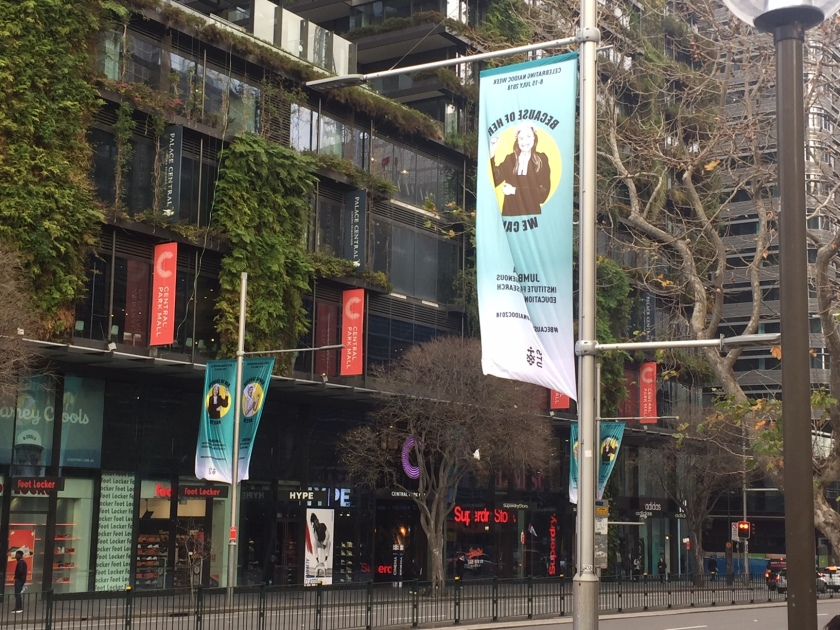 NAIDOC BANNERS ON BROADWAY